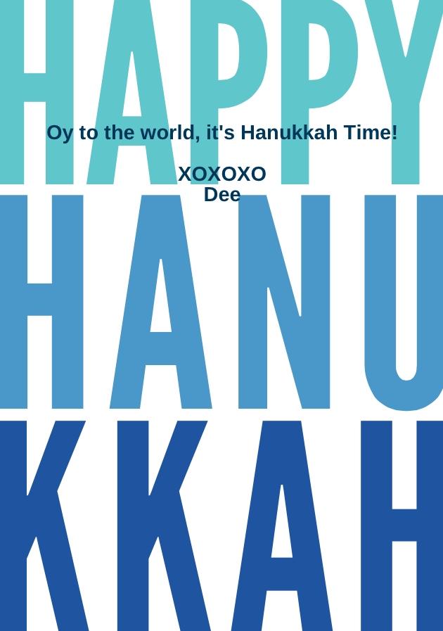 Happy Hannukah
