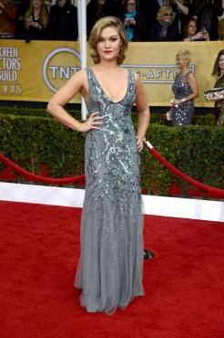 Julia Stiles in Amen Couture