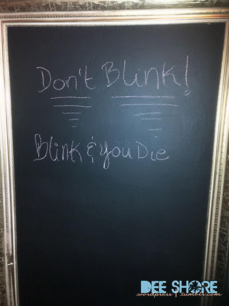 Don't blink! lol