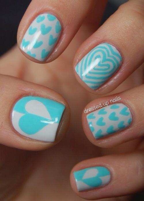 Valentine Nails 4
