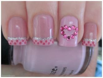 Valentine Nails 5