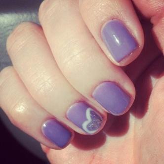Valentine Nails 6