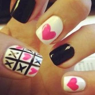 Valentine Nails 7
