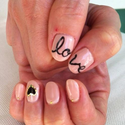Valentine Nails 8