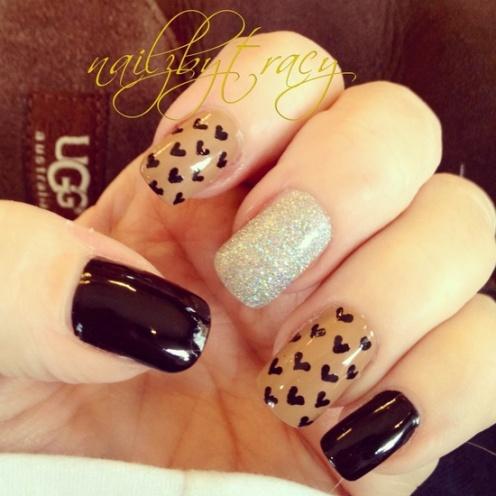 Valentine Nails 9