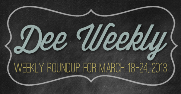 Dee Weekly 1