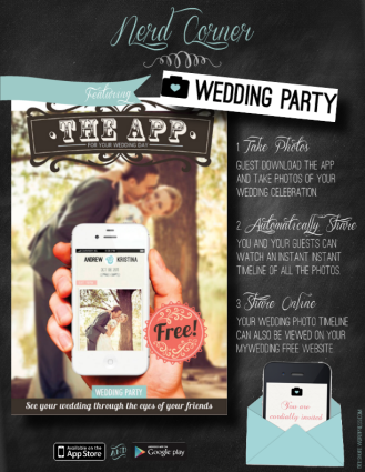 Nerd Corner - Wedding Party App