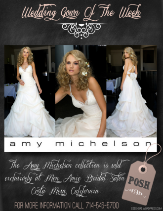Wedding Gown Of The Week - Posh by Amy Michelson