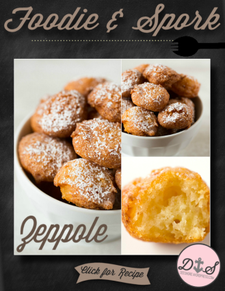 Foodie & Spork - Zeppole