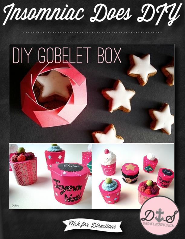 Insomniac Does DIY - Gobelet Box