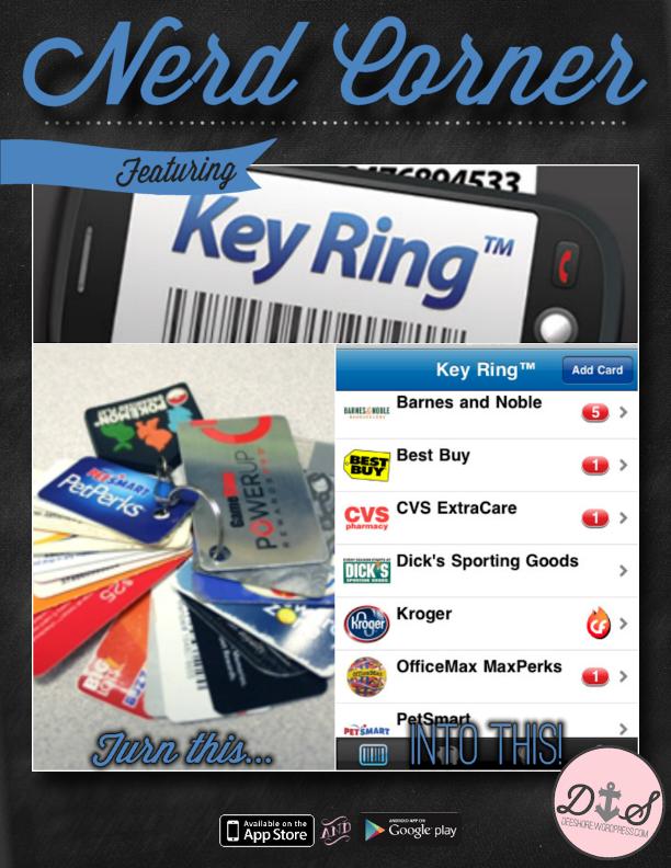 Nerd Corner - Key Ring
