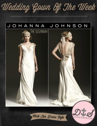 Wedding Gown Of The Week - Johanna Johnson