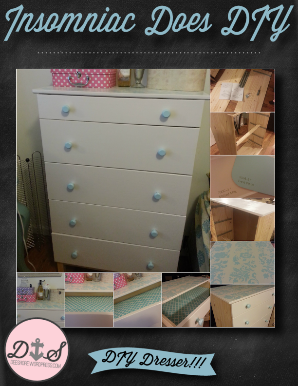 Insomniac Does DIY - Dresser 2
