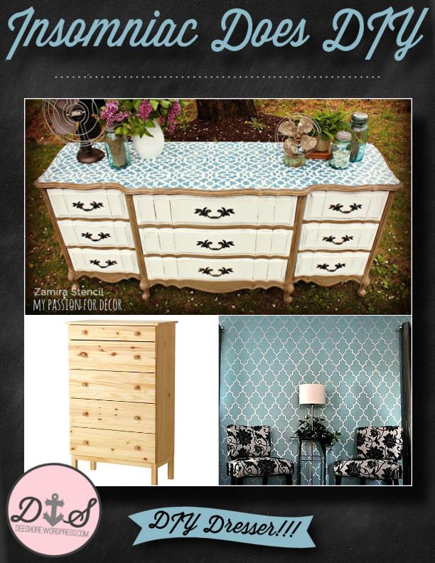 Insomniac Does DIY - Dresser