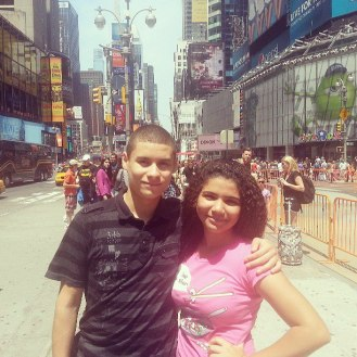 First time in NYC Times Square
