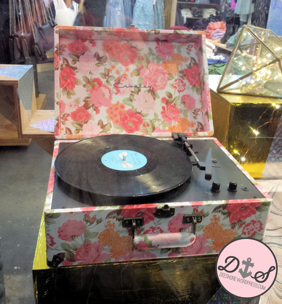 Flower Record Player