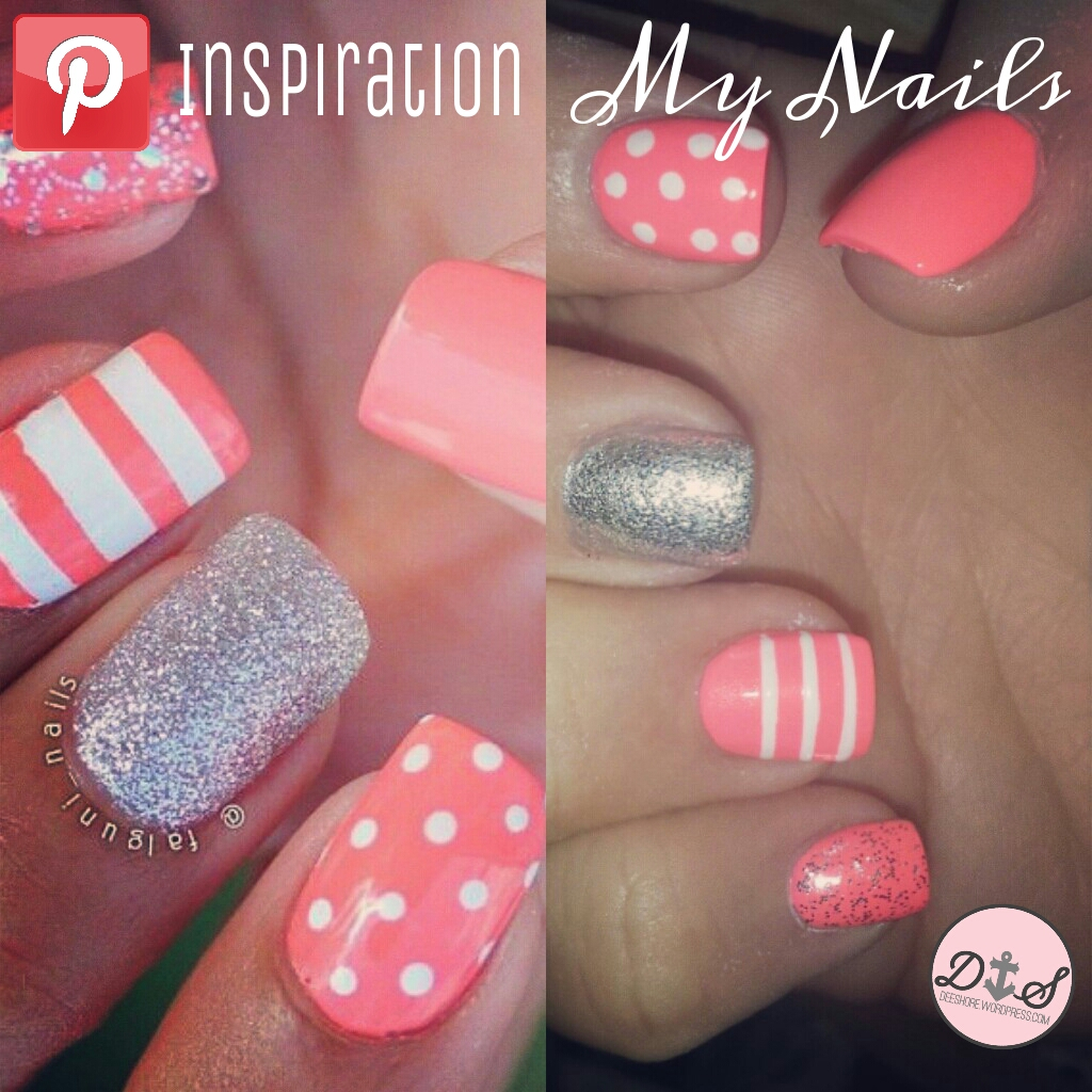 Nails Inspired by Pinterest – Nerd & Lace