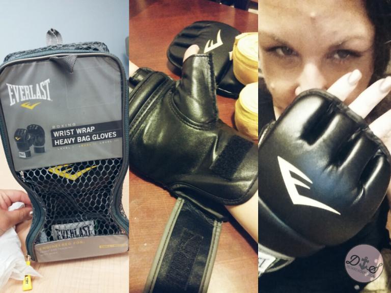 Everlast Wrist Wrap Heavy Bag Gloves Small// Medium
