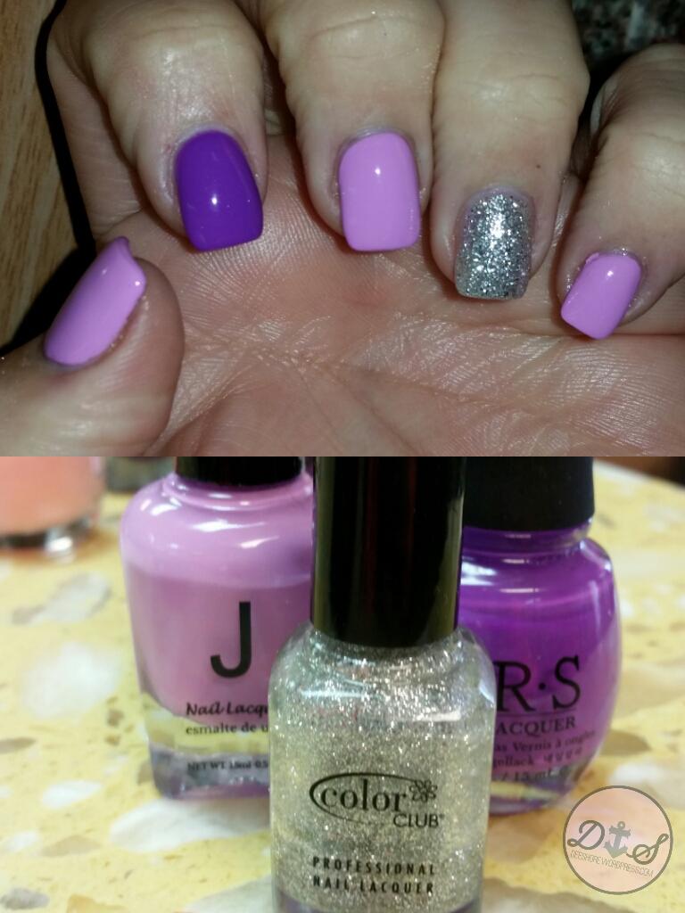 Purple Nails 1