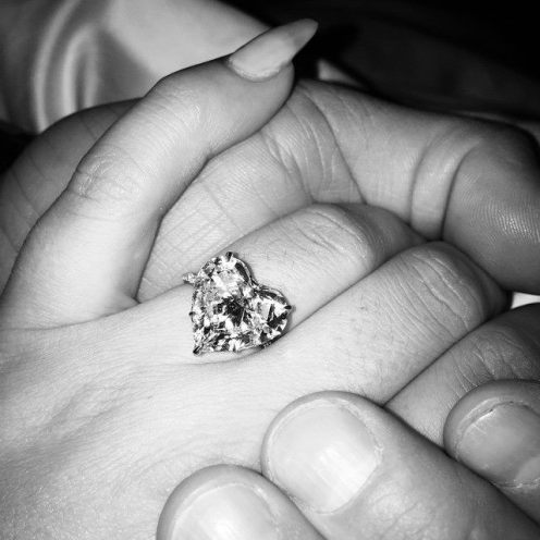 Lady Gaga Engagement Ring 1