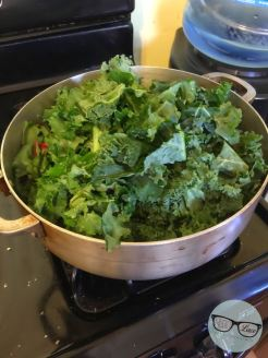 Kale Salad - Cook 1