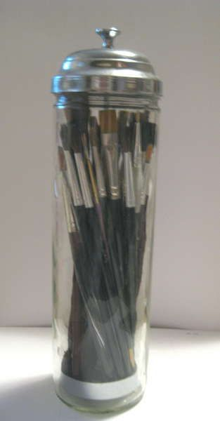 Straw - Makeup Brush Holder