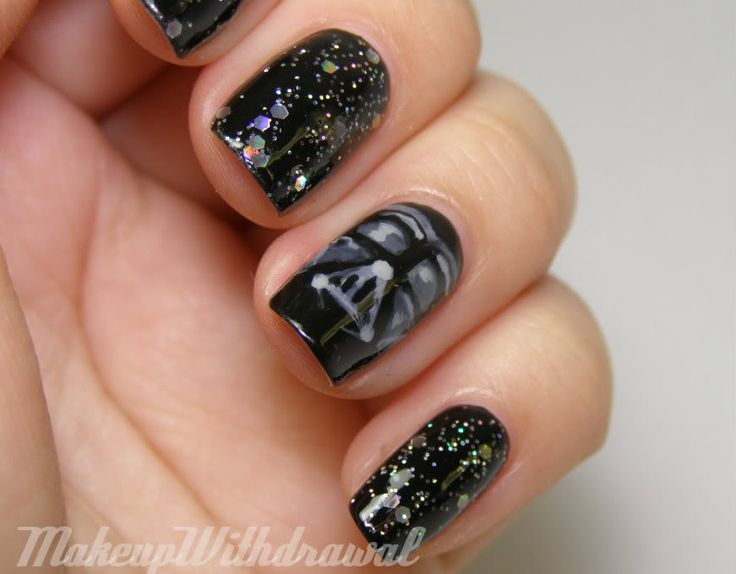 Darth Vader Nails – Nerd & Lace