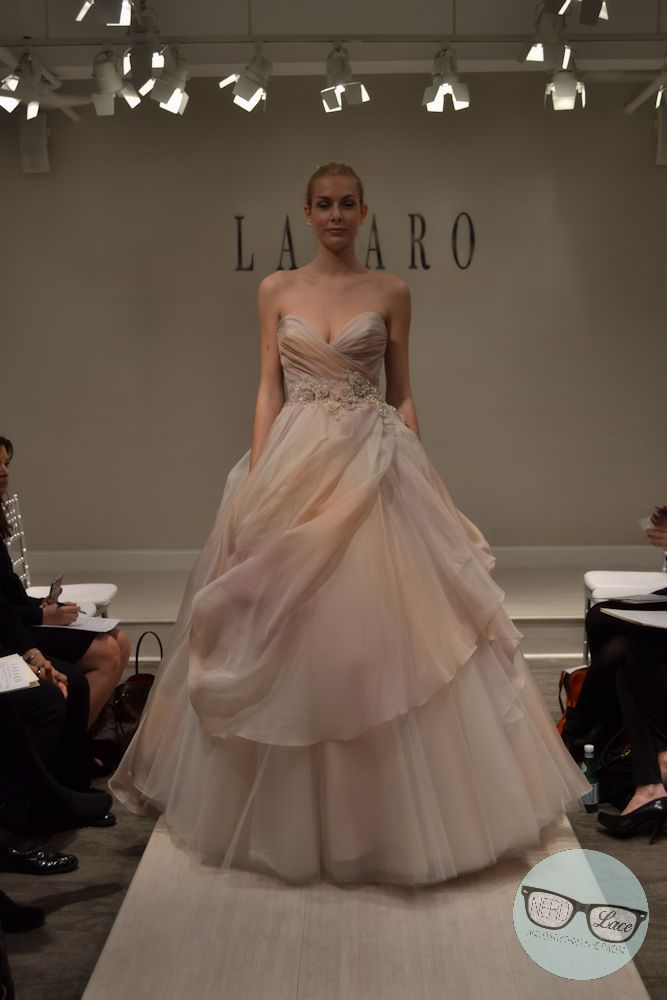 Lazaro Ombre Ball Gown