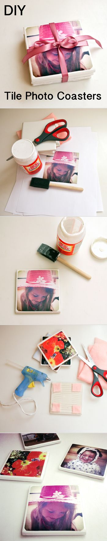 Photo Coaster DIY