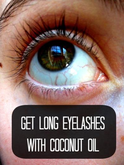 Coconut Oil - Eyelashes
