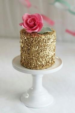 Sequin Cake 1