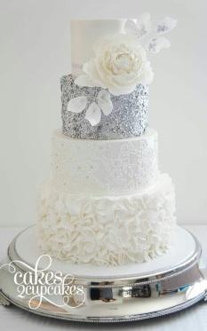 Sequin Cake 3
