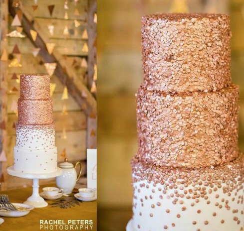 Sequin Cake 6