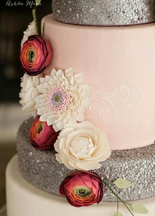 Sequin Cake 9