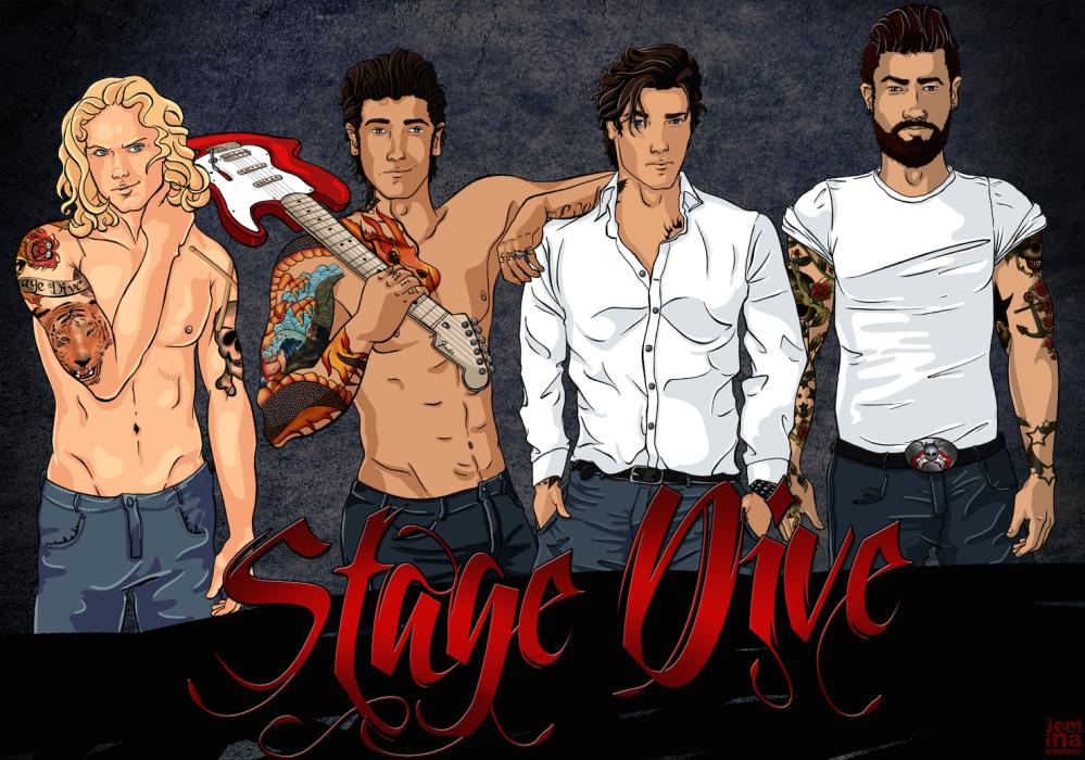 Stage Dive Illustration