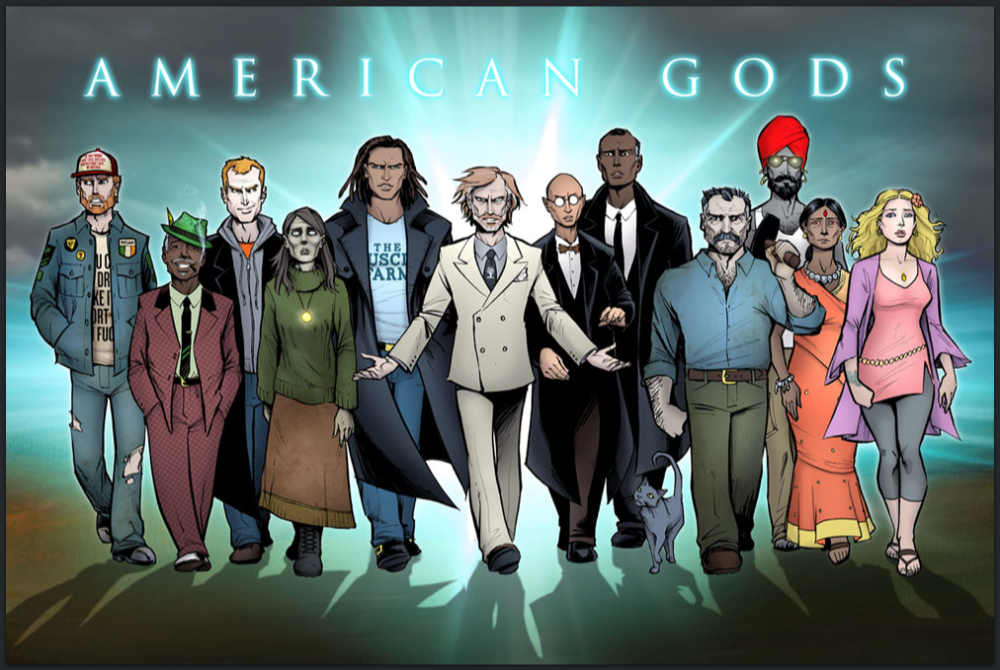 American Gods Illustration