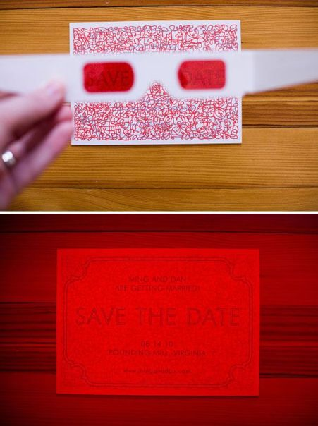 Unique Wedding Invitations 11