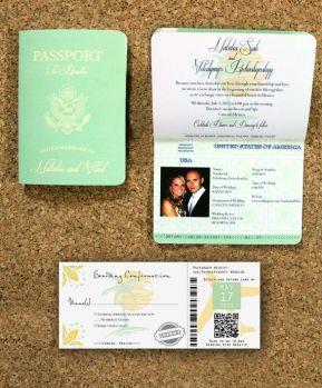 Unique Wedding Invitations 15