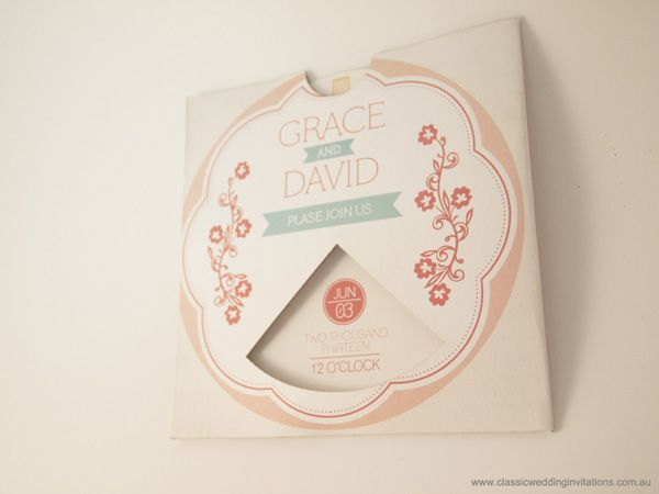 Unique Wedding Invitations 6