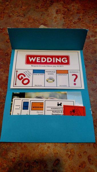 Unique Wedding Invitations 8