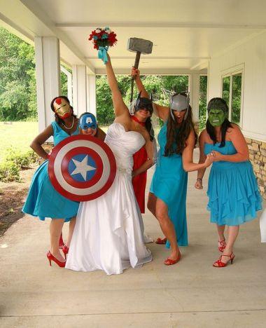 Superhero Wedding 2
