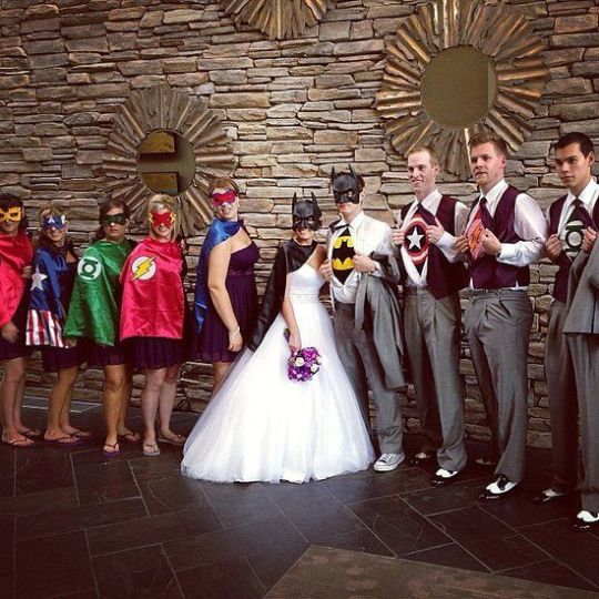 Superhero Wedding 3
