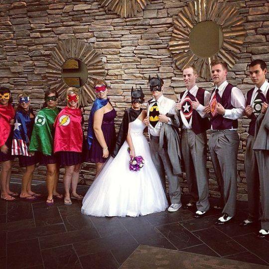 Superhero Wedding 3
