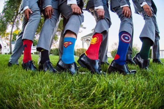 Superhero Wedding 4