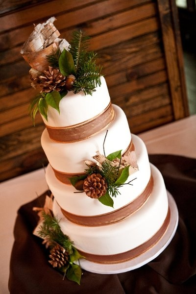 Wedding Christmas Cake 12