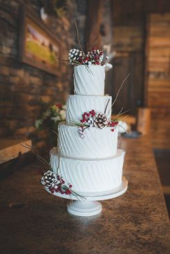Wedding Christmas Cake 2