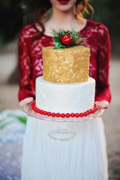 Wedding Christmas Cake 3