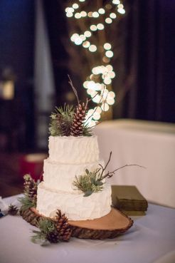 Wedding Christmas Cake 5