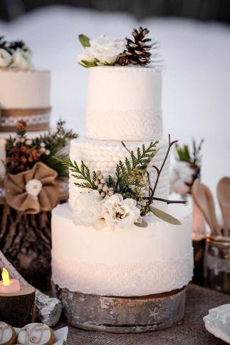 Wedding Christmas Cake 8
