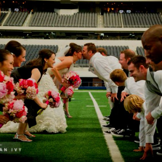 Football Wedding 12